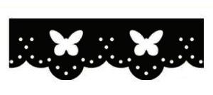 Velké razidlo na okraje - Motýlci