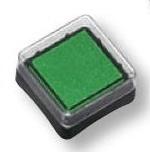 Razítkovací polštářek zelený