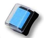 Razítkovací polštářek tyrkysově modrý