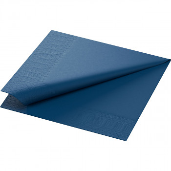 Ubrousky Duni 33x33 tmavě modré 20 ks