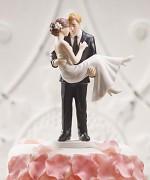 Figurka na svatební dort V náruči pravé lásky