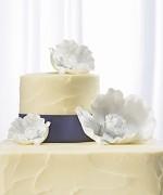 Svatební figurka na dort Květy