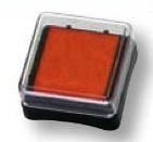 Razítkovací polštářek oranžový