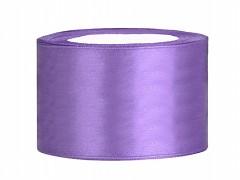 Stuha saténová světle fialová 38 mm x 25 m