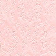 Ubrousky vytlačované perleťově jemně růžové 16 ks