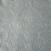 Ubrousky vytlačované perleťově stříbrné 16 ks