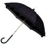 Paraplíčko (deštník) černé krajkové