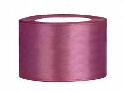 Stuha saténová švestkově fialová 38 mm x 25 m