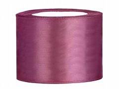 Stuha saténová švestkově fialová 50 mm x 25 m
