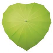 Deštník srdce světle zelené