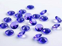 Diamanty jasně fialové 12 mm