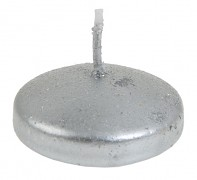 Plovoucí svíčka stříbrná