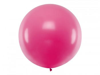 Balónek sytě růžový ø 1 m