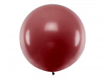 Balónek burgundy ø 1 m