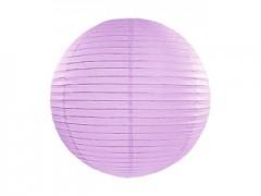 Lampion světle fialový lila 25 cm