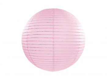 Lampion světle růžový 25 cm