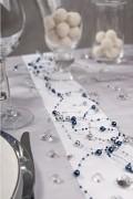 Perličky na silikonu tmavě modré
