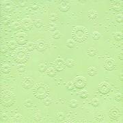 Ubrousky vytlačované pastelově zelené 16 ks