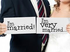 Cedulka I´m married a I´m very married