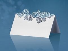 Jmenovka na stůl vyřezávaní motýlci
