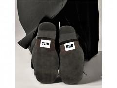 Samolepky na boty THE END