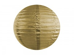 Lampion zlatý 25 cm