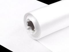 Satén 16 cm x 9 m bílý
