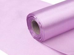 Satén 16 cm x 9 m světle fialový lila