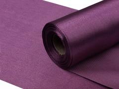 Satén 16 cm x 9 m tmavě purpurově fialový