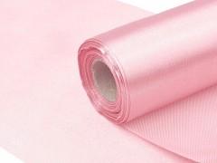 Satén 16 cm x 9 m jemně růžový