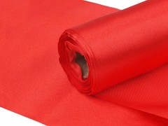 Satén 16 cm x 9 m červený