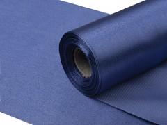 Satén 16 cm x 9 m tmavě modrý