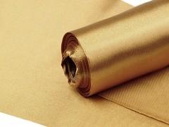 Satén 16 cm x 9 m zlatý