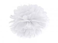 Pom-pom bílý 35 cm