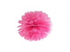 Pom-pom sytě růžový 25 cm