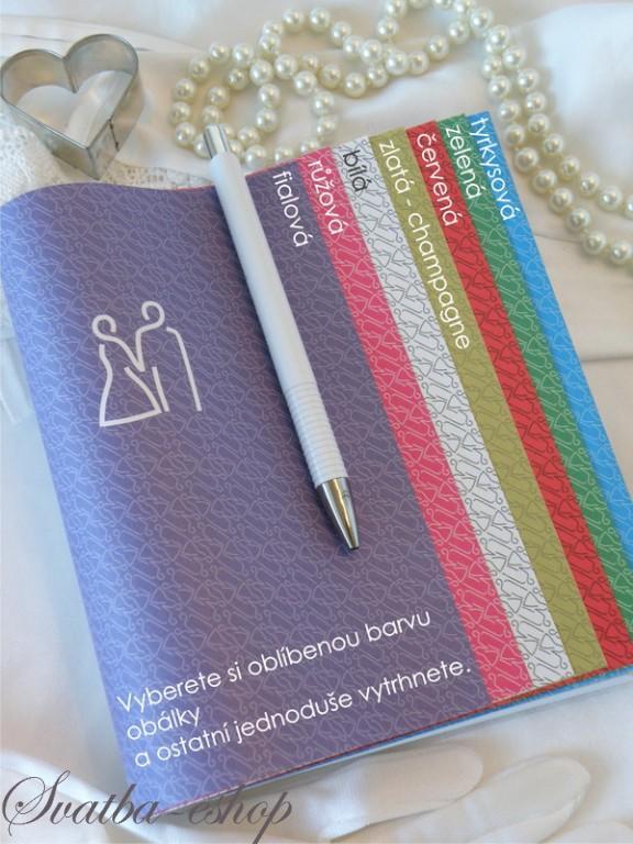 Svatební diář - dárek pro kamarádku nevěstu Svatba-eshop.cz cf921c5bd9