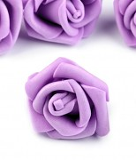 Růžička pěnová fialová lila 4 cm