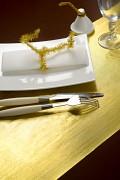 Zlatá šerpa 28 cm x 5 m