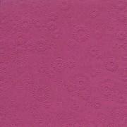 Ubrousky vytlačované tmavě fuchsiové 16 ks
