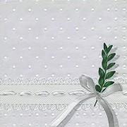 Ubrousky vytlačované puntíky s myrtou 16 ks
