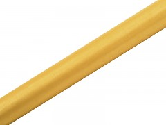 Organza 36 cm x 9 m okrově žlutá