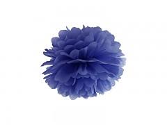 Pom-pom tmavě modrý 25 cm