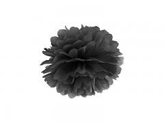 Pom-pom černý 25 cm