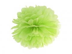 Pom-pom světle zelený 35 cm