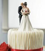 Figurka na svatební dort Romantické objetí