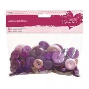 Knoflíky fialové