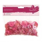 Knoflíky růžové