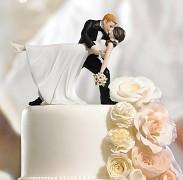 Figurka na svatební dort V objetí tance
