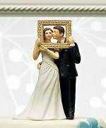 Figurka na svatební dort Dokonalý obrázek