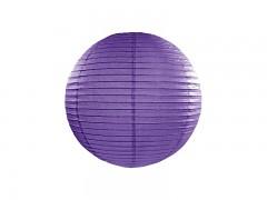 Lampion tmavě fialový 25 cm